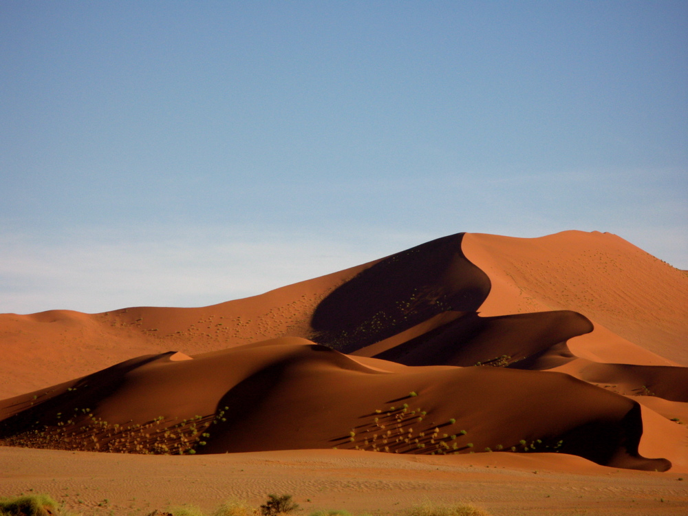 beautiful sand dunes in Namibia