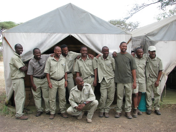 CC Africa Under Canvas Team