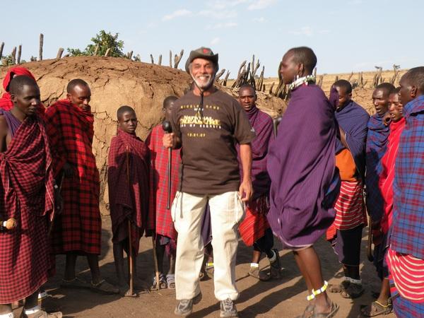 Charles and Masai Jumping