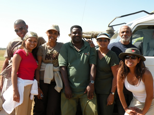 Our Safari Group and Fabian our Guide