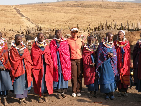 Kay and Masai Women