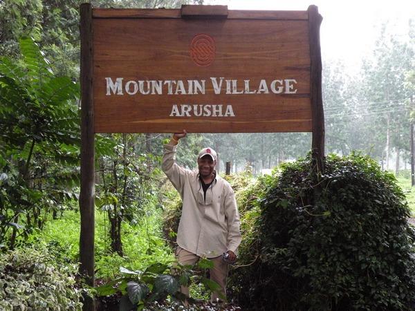 Kenneth at Arusha, Tanzania Signpost