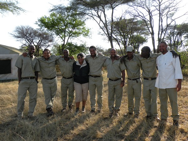 Marsha and CC Africa team