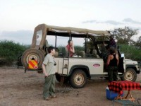 Sundowners in Kenya