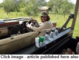 safari kay in Tanzania
